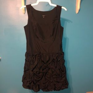Express Black Bubble Dress